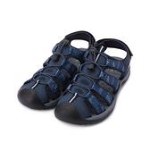 RED ANT 護趾束帶水陸鞋 藍 男鞋