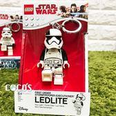 樂高鑰匙圈 星際大戰 STAR WARS 第一軍團帝國風暴兵 白兵 人偶造型鑰匙圈 COCOS LG320