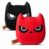 行動電源 萌龍貓新款可愛表情卡通惡魔手機禮品充電寶訂製 3800MAH