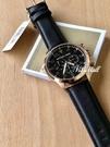『Marc Jacobs旗艦店』MichaelKorsMK8535美國代購MK時尚玫瑰金真皮錶帶三眼計時腕錶全新正品實拍