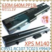 DELL 電池-戴爾 電池 INSPIRON 630M,640M,PP19L,RC107,TC023 Y9943,C9551,312-0373,312-0451