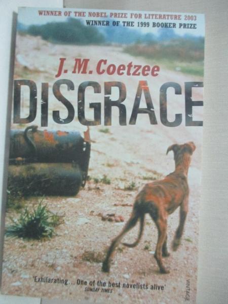 【書寶二手書T1/原文小說_CLB】Disgrace (屈辱)_庫切(J.M. Coetzee)