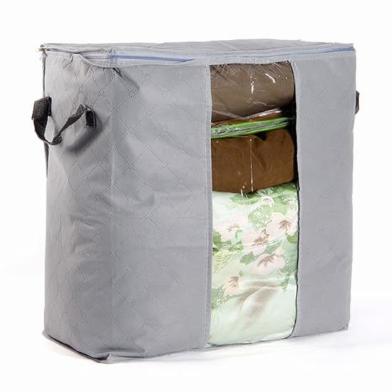 棉被袋 收納袋 整理袋 無紡布  換季 被單 枕頭 幼稚園 冬衣收納 竹碳 棉被 收納袋【J018】MY COLOR