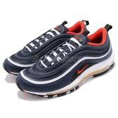 Nike 休閒慢跑鞋 Air Max 97 藍 紅 反光設計 運動鞋 男鞋 女鞋 大氣墊 【PUMP306】 921826-403