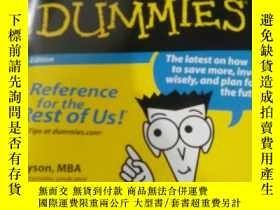 二手書博民逛書店personal罕見finance for dummiesY21
