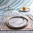 水果盤試吃盤 帶蓋蛋糕盤子玻璃蛋糕罩 甜...