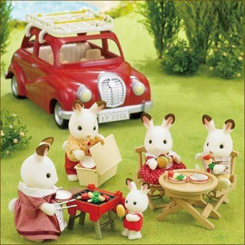森林家族 家庭車野餐烤肉組_ EP24230