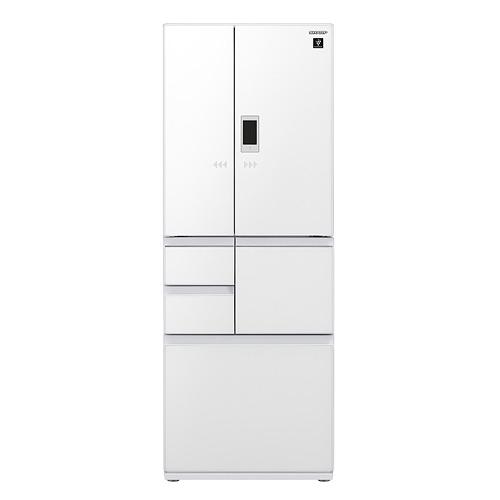【送王品牛排餐券4張 14天後寄出】回函贈SHARP夏普551公升對開六門變頻冰箱SJ-GX55ET-W