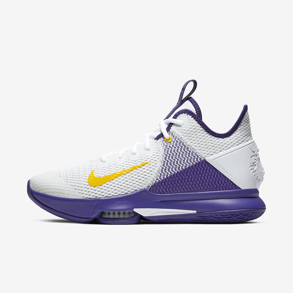 Nike Lebron Witness IV 4 EP [CD0188-100] 男鞋 籃球 運動 避震 包覆 白紫