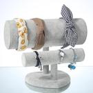 頭箍架發箍展示架頭飾發卡頭繩發圈飾品收納架手鍊手串首飾架家用ATF 青木鋪子