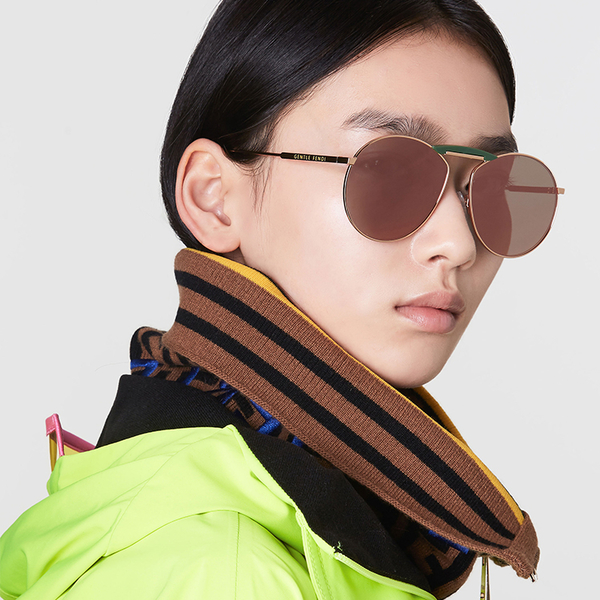 GENTLE MONSTER x FENDI NO.2 (玫瑰金) 限量發售 太陽眼鏡 圓框 久必大眼鏡