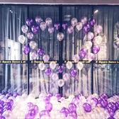 婚慶氣球裝飾結婚心形告白氣球求婚創意布置用品求愛錶白情人節
