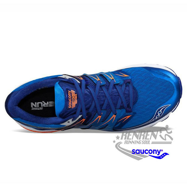SAUCONY 男慢跑鞋 ZEALOTISO 2 (藍橘)【 胖媛的店 】