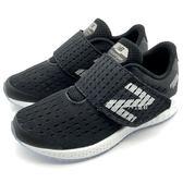 《7+1童鞋》中童 New Balance  YXZNPBK 網布  寬楦  休閒 運動鞋 慢跑鞋  9433  黑色