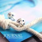 925純銀精靈磨砂磨菇 針式耳環_質物日誌Journal