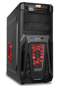 KTNET 戰龍 V1-U3 戰鬥機殼 黑 電競機殼 電腦機殼 / KTCSTOPV1-U3BK