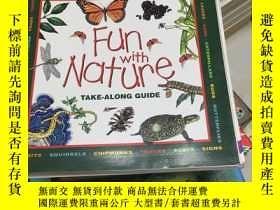 二手書博民逛書店英文原版罕見fun with nature take-along
