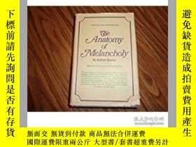 二手書博民逛書店The罕見Anatomy of Melancholy 《憂鬱的解