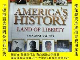 二手書博民逛書店America s罕見History Land of Liber
