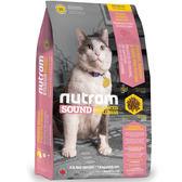 【寵物王國】nutram紐頓-S5健康天然成貓(雞肉鮭魚)6.8kg