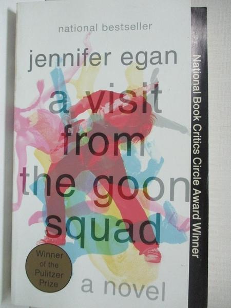 【書寶二手書T1/原文小說_IJI】A Visit from the Goon Squad_Egan, Jennifer