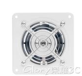 通風扇靜音排風扇廚房排氣扇衛生間墻4寸窗式換氣扇管道抽風機強力工業LX春季特惠