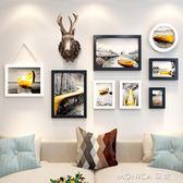 壁畫 復古工業風房間裝飾品鹿頭壁掛餐廳墻飾咖啡廳服裝店背  美斯特精品 YYJ