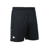 KAPPA 男K4T針織短褲(台灣製 五分褲 慢跑 路跑 運動 吸濕排汗≡體院≡ 32166XW-005