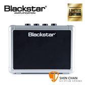 Blackstar Fly3 鈦銀色限量版 單顆吉他音箱(可當電腦喇叭/電池可攜帶)內建破音與Delay效果器