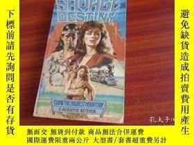二手書博民逛書店SAVAGE罕見DESTINYY19865 F. ROSANNE