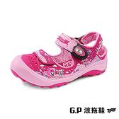 G.P(童)可愛牛牛護趾鞋 童鞋-桃紅(另有藍綠)