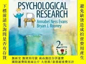 二手書博民逛書店Methods罕見In Psychological ResearchY256260 Annabel Ness