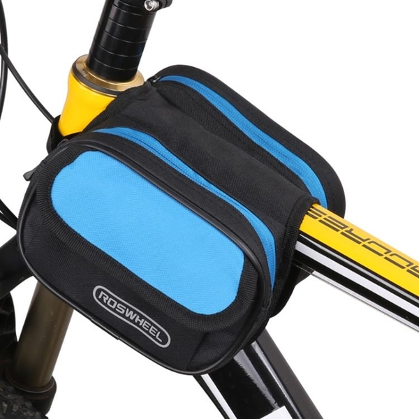 雙鞍包炫酷自行車包單車山地車上管包車前包工具包騎行裝備 sxx721 【極限男人】