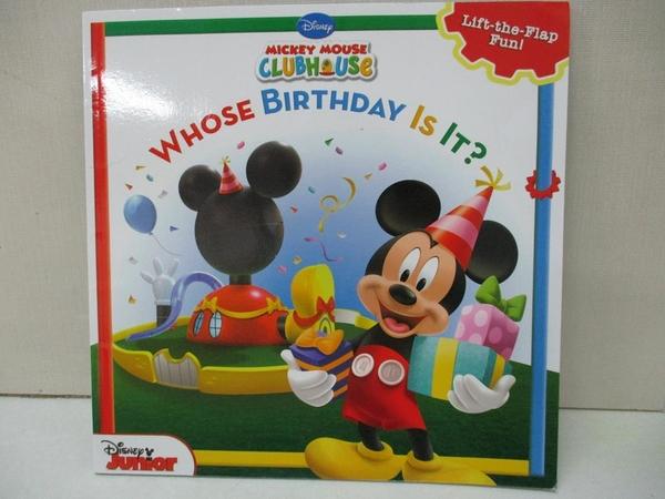 【書寶二手書T8/少年童書_ILH】Whose Birthday Is It?_Higginson, Sheila Sweeny/ Disney Storybook Artists (ILT)