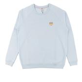 【KENZO】鋪棉小虎頭長袖上衣 (粉藍色) 2SW796950 63