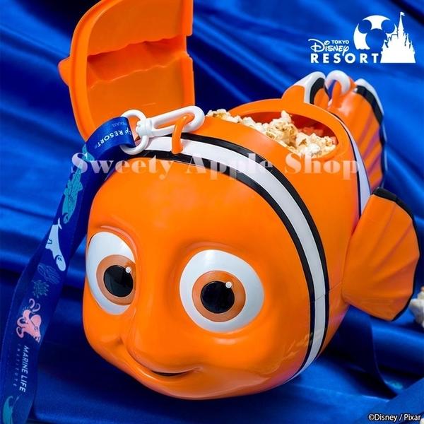 (現貨&樂園實拍) 日本限定 東京迪士尼 海底總動員 尼莫  全新爆米花空桶 / 收納桶