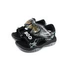 小男生鞋 涼鞋 黑色 恐龍 中童 童鞋 A203803-900 no050