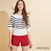 【新色】MOMA 縫線邊西裝短褲_3色