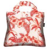澳洲環保購物袋/Tropics 熱帶系列 - 紅鶴【ENVIROSAX】