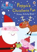 Peppa Pig :Peppa 39 s Christmas Fun Sticker A