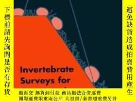 二手書博民逛書店Invertebrate罕見Surveys For Conser