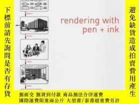 二手書博民逛書店The罕見Thames And Hudson Manual Of Rendering With Pen And I
