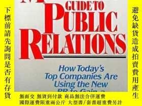 二手書博民逛書店The罕見Marketer s Guide To Public RelationsY256260 Thomas