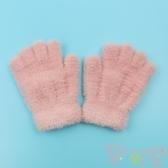 兒童手套冬兒童手套冬季半指翻蓋保暖男女童可愛女孩五指露指【聚可愛】