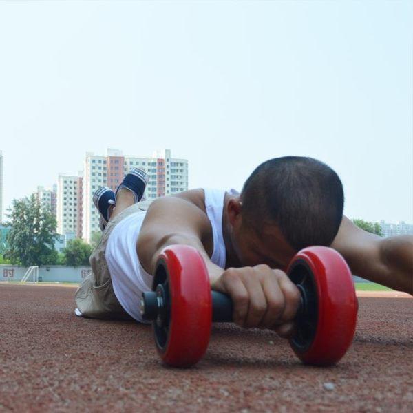 健腹輪男士四輪軸承腹肌輪核心力量訓鍊飛鳥動作【一周年店慶限時85折】