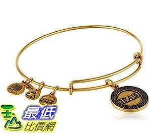[美國直購] Alex and Ani Sorority Kappa Alpha Theta Expandable Rafaelian Bangle Bracelet, 2.4 手鐲