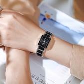 長方形手錶女士學生簡約氣質精致小巧細帶復古小表盤大氣時尚防水 印象家品
