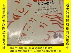 二手書博民逛書店Talk罕見It Over!: Integrating Listening Speaking And Pronun