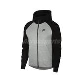 Nike 外套 NSW Tech Fleece Hoodie 灰 黑 男款 連帽外套 運動休閒 【ACS】 928484-064
