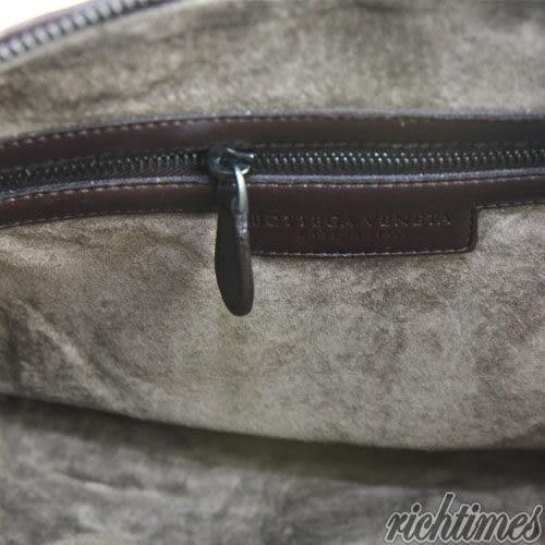 【裕代 BOTTEGA VENETA】深咖編織斜背包BV0C5805